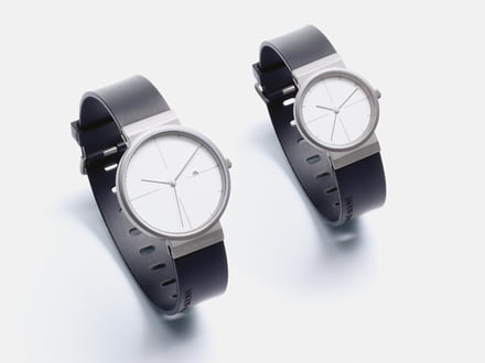 Titanium watch collection from Jacob Jensen