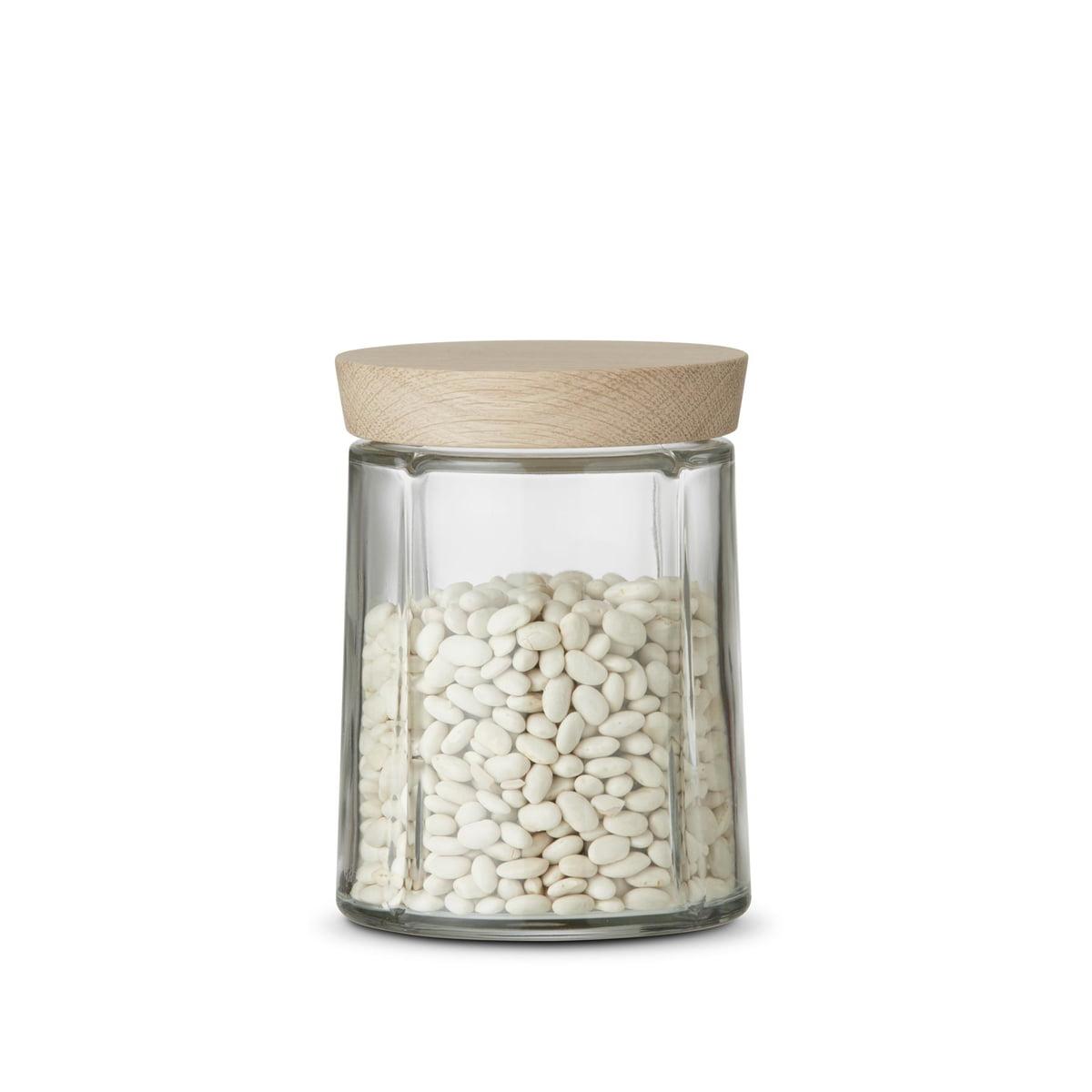 Rosendahl - Grand Cru bocaux en verre / chêne, 0,75 litre