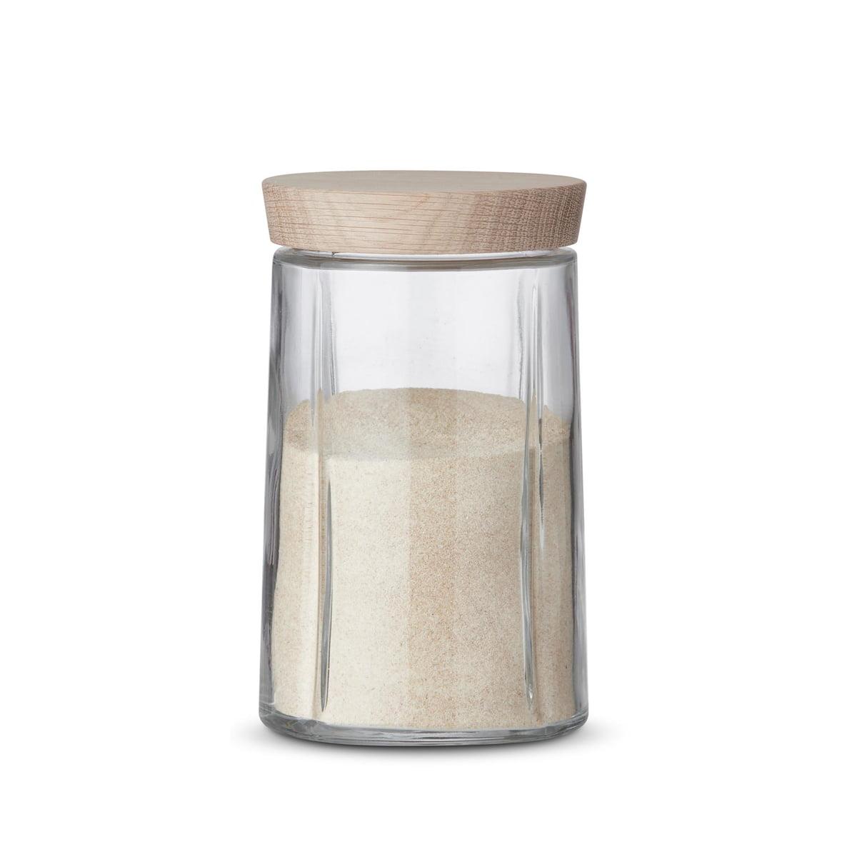 Rosendahl - Grand Cru bocaux en verre / chêne, 1,0 litre