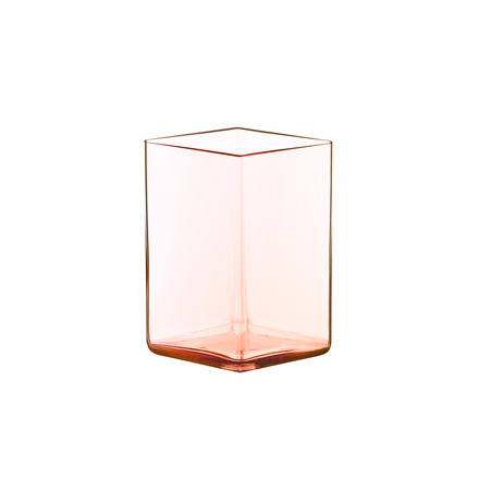Iittala - vase Ruutu 115 x 140 mm, rose saumon