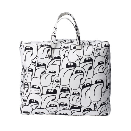Hay - Got this licked Beach Bag large, blanc
