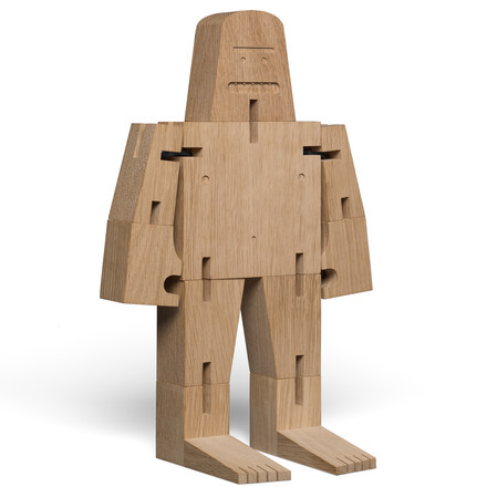 Figurine en bois Mister Bigfoot
