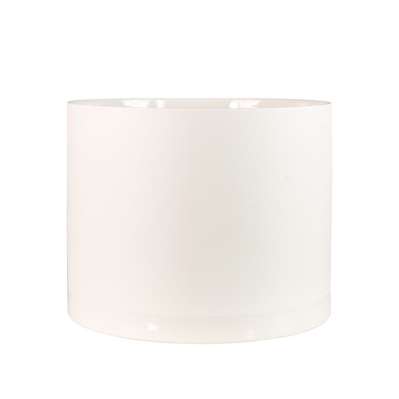 Menu - Cylindrical Planter L, blanc