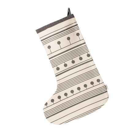 Winterland Christmas Stocking par ferm Living en gris