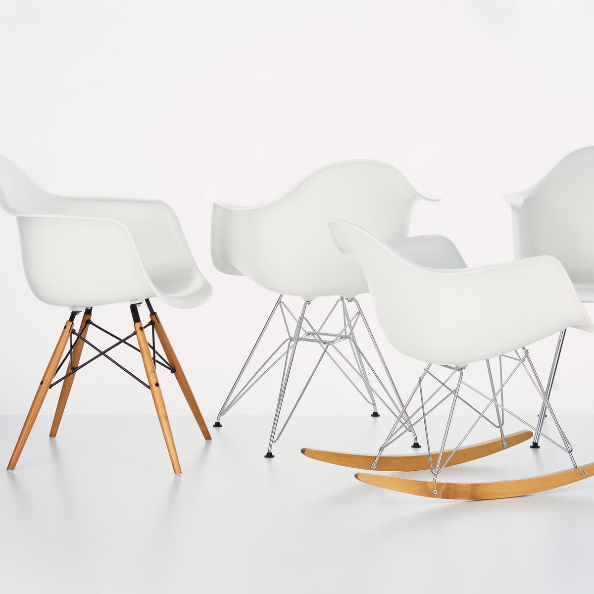 vitra eames rar fauteuil à bascule - Chaise A Bascule Eames 2