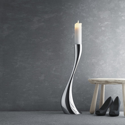Georg Jensen - Cobra Bougeoir, 60 cm