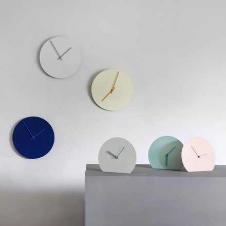 Menu - Horloge Steel, couleurs