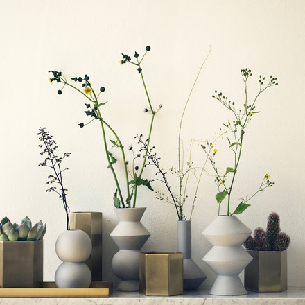 Vase et pot Hexagon de ferm Living
