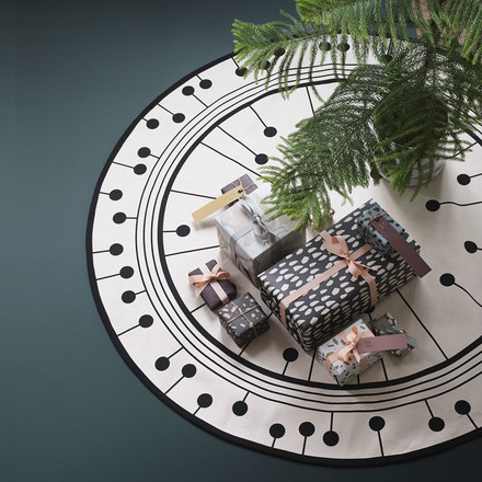ferm Living - Tapis Christmas Tree