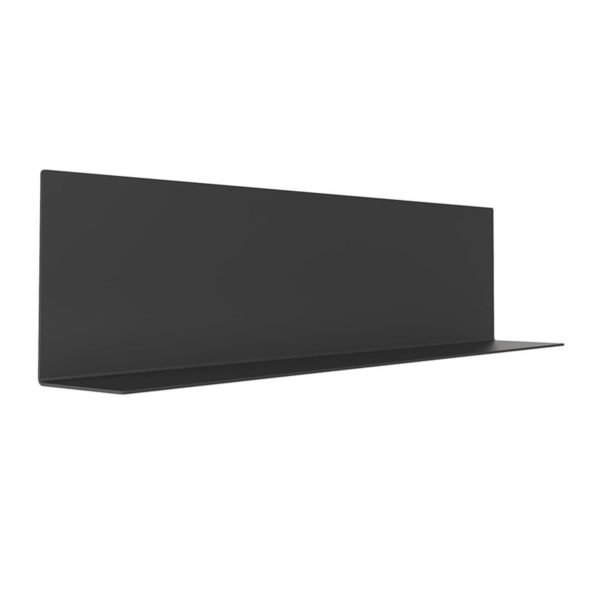 Frost - Unu ystème d´étagères, 250 x 1000 x 150, noir