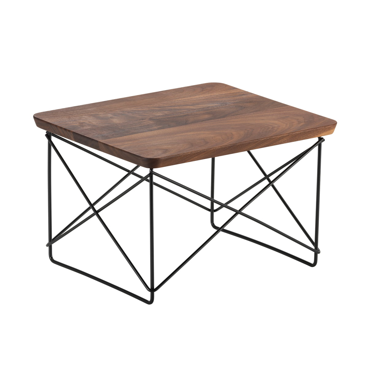 Vitra - Table Eames Occasional LTR noyer / basic dark
