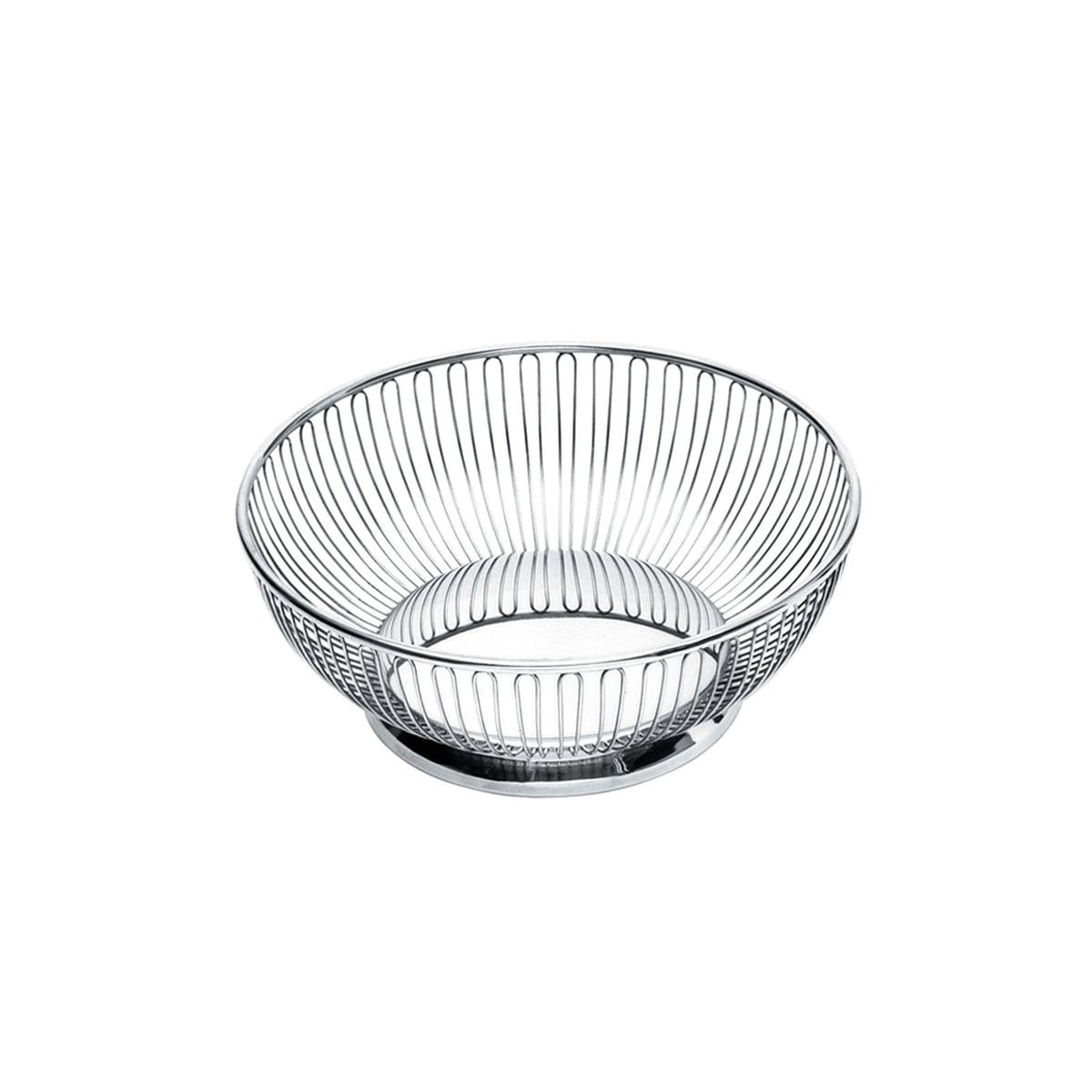 Alessi - Corbeille à fil ronde 826, rond, Ø 15 cm