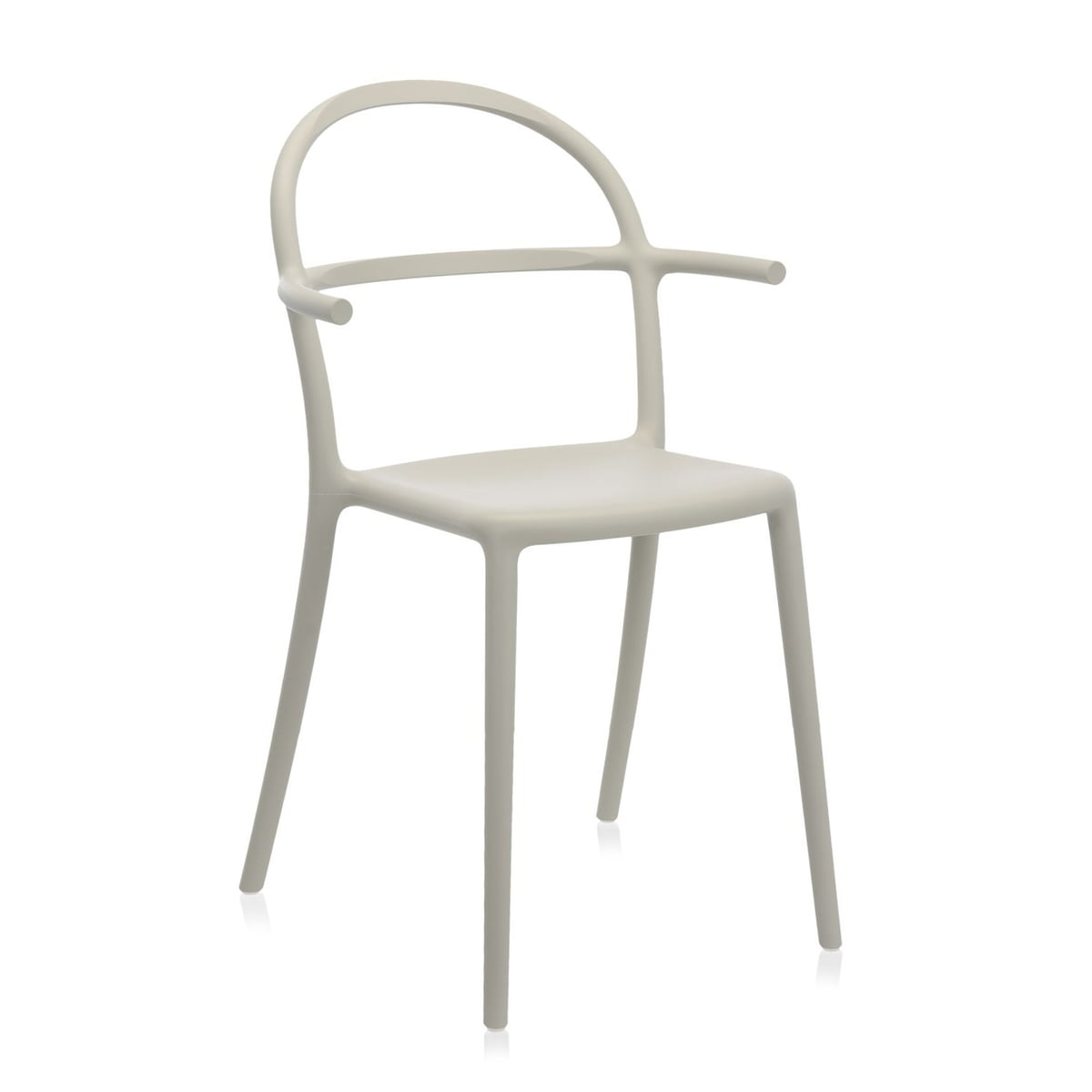 Kartell - Chaise Generic C, gris