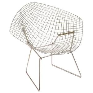 Coussin d'assise pour fauteuil Bertoia Diamond Indoor